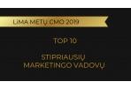 """LiMA """"Metų CMO'19"""" rinkimai - paskelbti 10 stipriausių marketingo vadovų"""