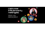 Į įtakingiausių influencerių TOP dešimtukus įsiveržė ir nauji veidai