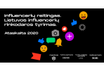 """Paskelbta tyrimo """"Lietuvos influencerių reitingas 2020"""" ataskaita"""